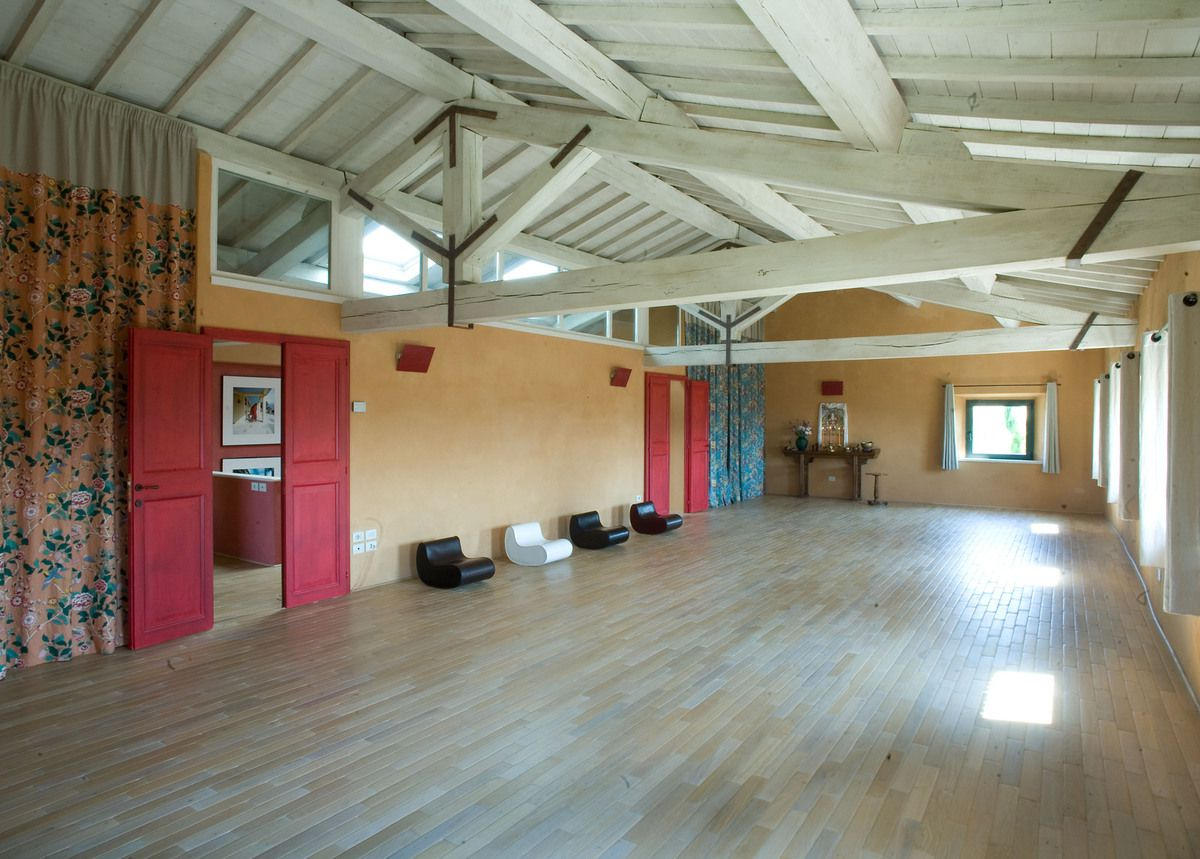 The room for the workshop