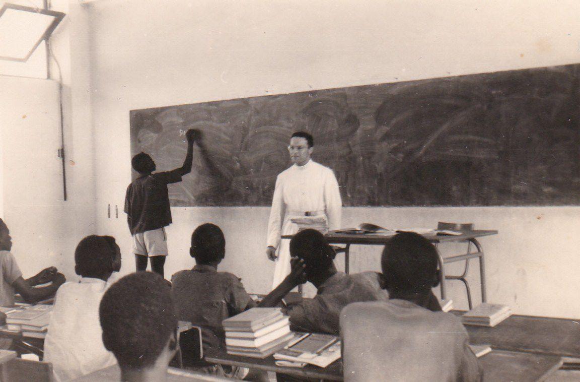 Abbé Dunate au Mali en 1963-1964