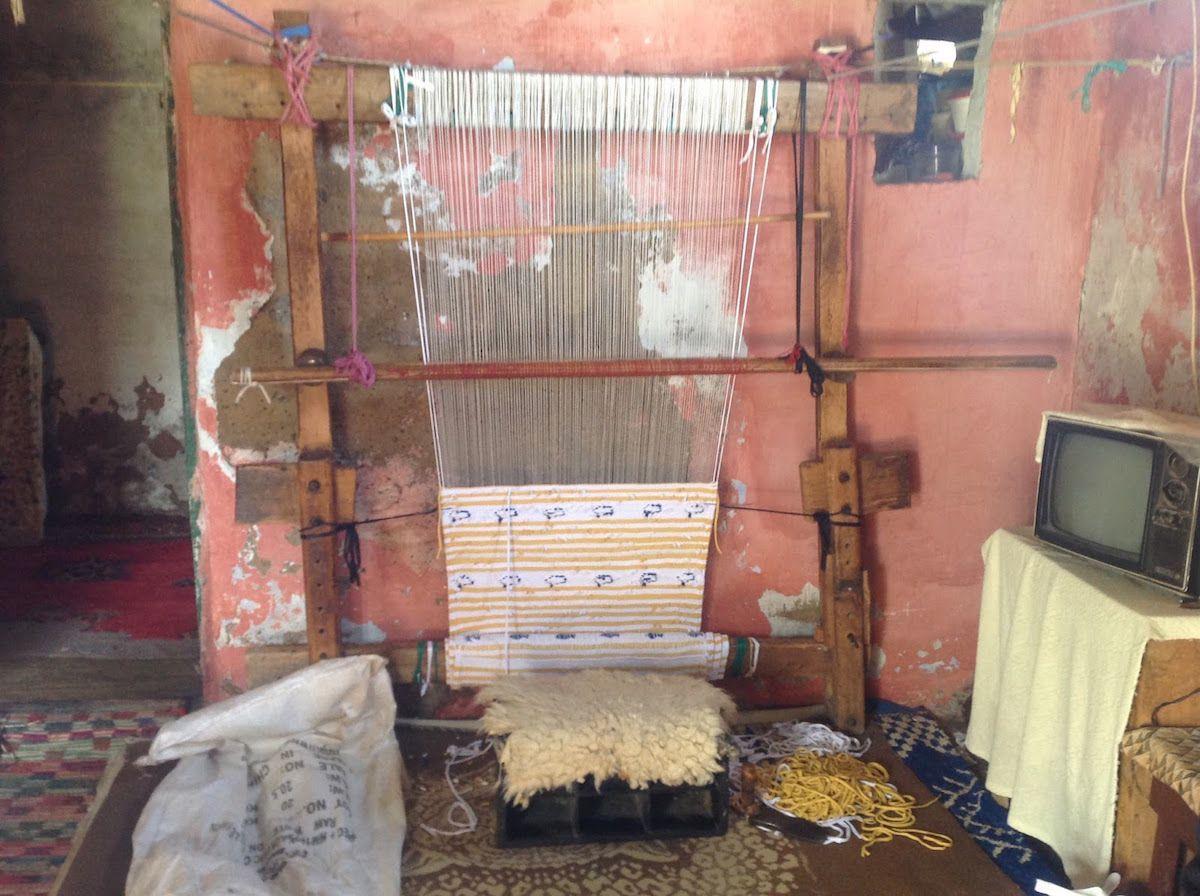 Boucherouite Tapis Marocain A L Honneur Deco Decouverte