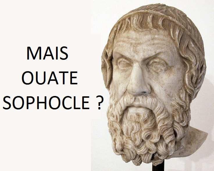 """Les Américains aiment beaucoup trop l'expression """"What the fuck ?"""" (littéralement """"Quoi par le foutre ?""""). En français et pour peu qu'on fréquente les poètes tragiques, il n'est pas difficile d'entendre autre chose."""