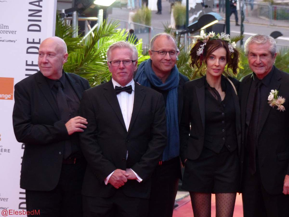 Marianne Denicourt, présidente du jury Shortcuts. Le jury des longs métrages, présidé par Claude Lelouch. Kate Dickie et Gary Lewis (hommages). Et le groupe The Adventures of, en concert lamedi soir au Palm.