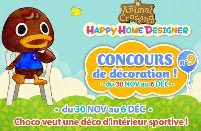 Animal Crossing Happy Home Designer : où est Choco ?