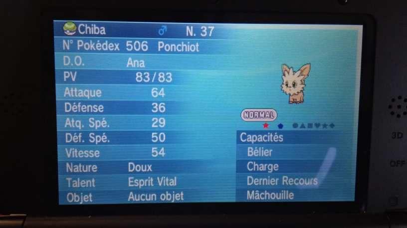 Ponchiot shiny