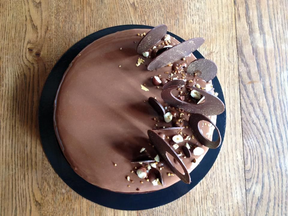 decoration entremet chocolat