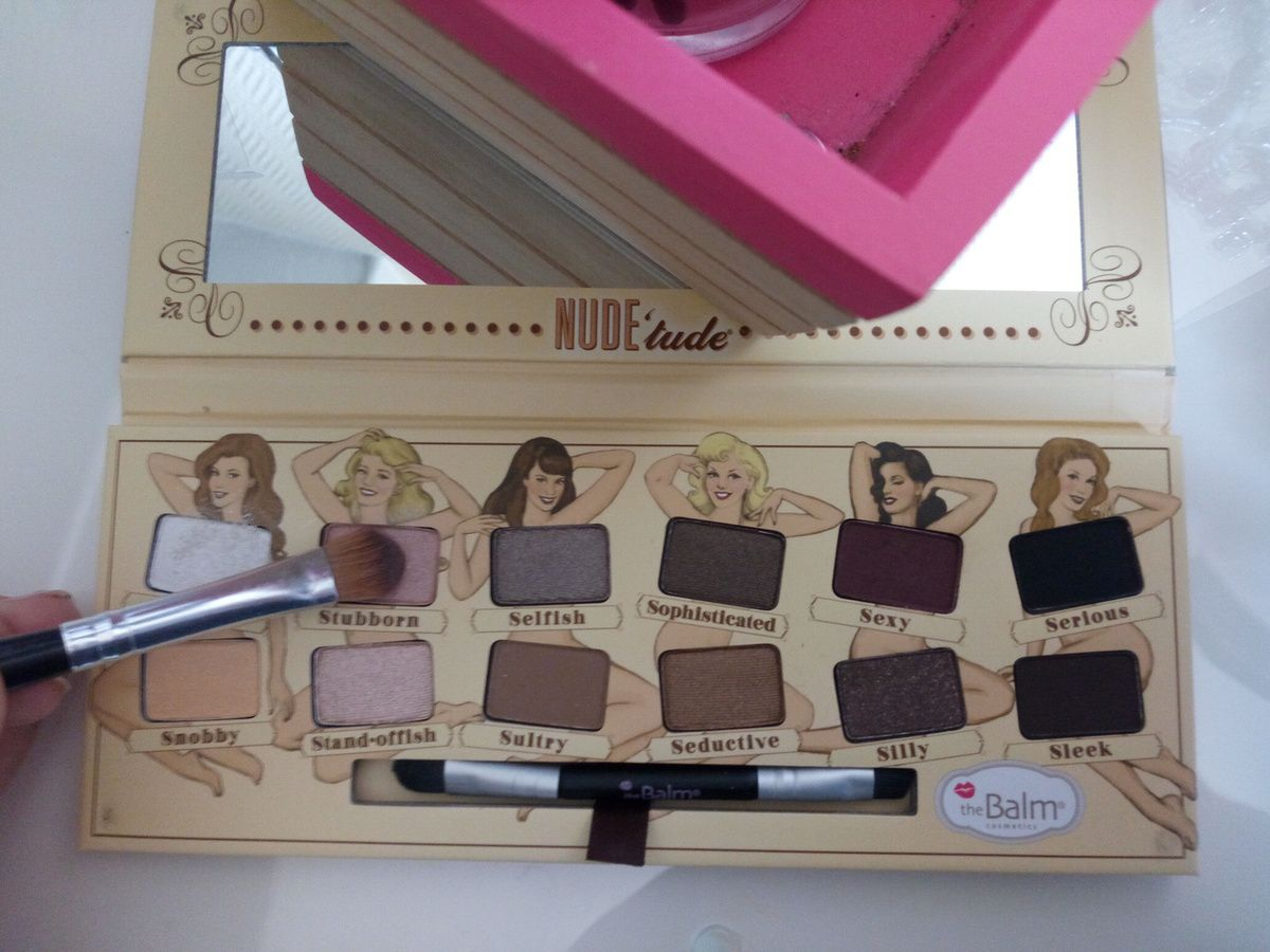 Palette : The Balm Couleur : Stubborn