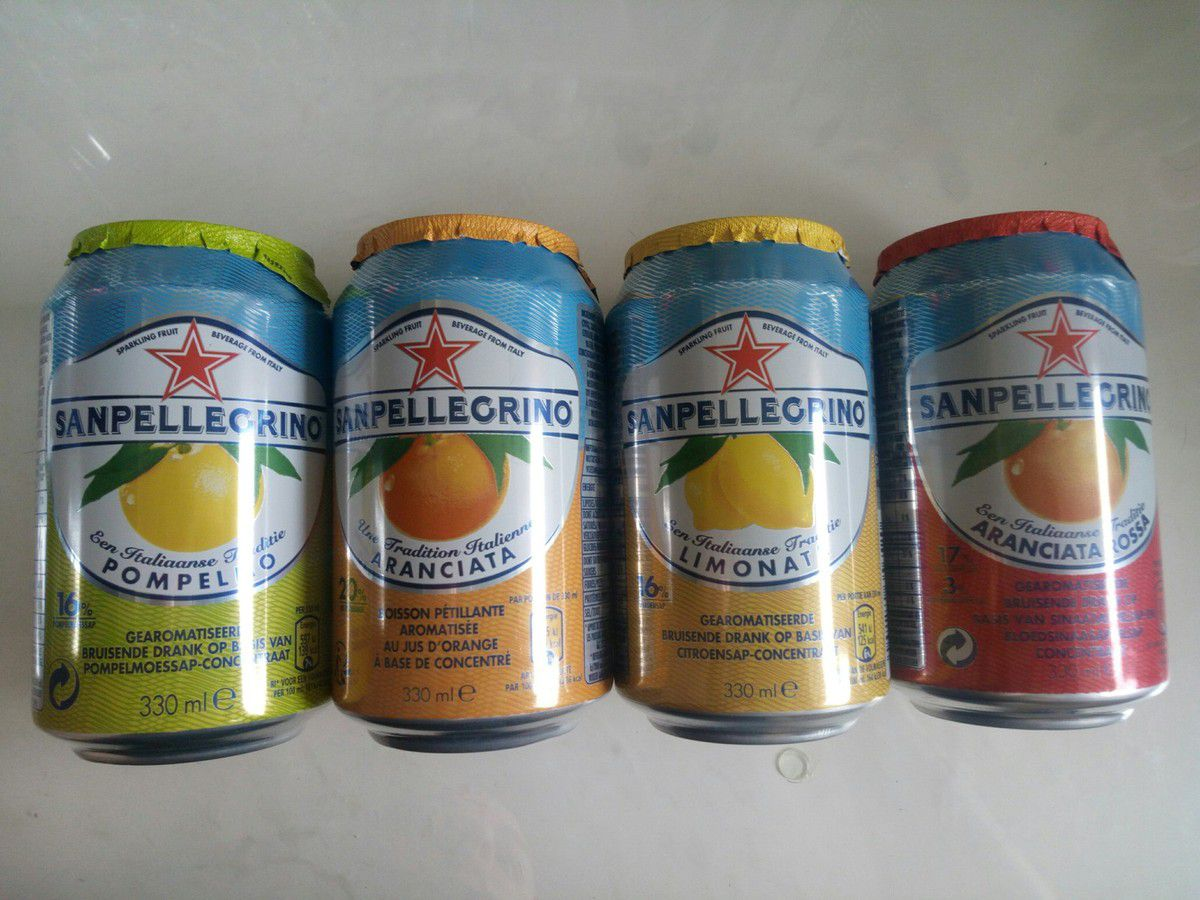 Sanpellegrino - Citron, Orange, Orange Sanguine et Pamplemousse - 33cL