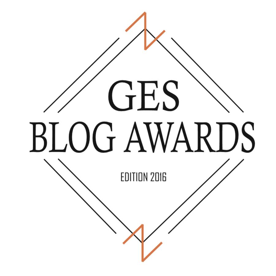 Mon premier concours : GES Blog Awards.