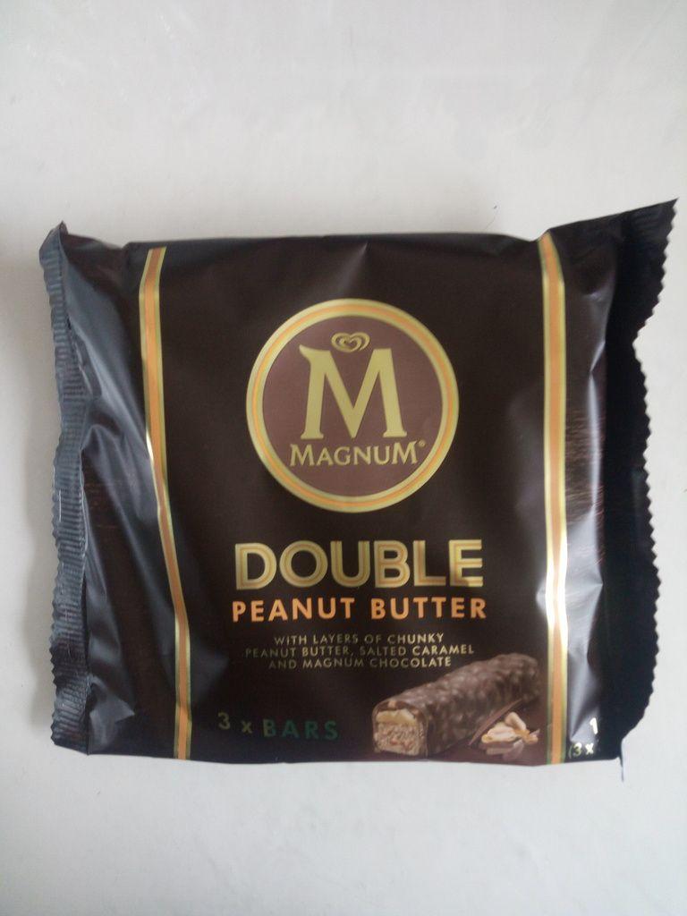 Magnum - Barre chocolaté avec cacahuètes - 3 barres de 39g chacune