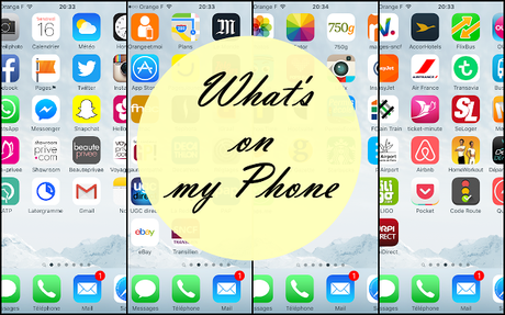 TAG What's in my phone ? (A ma façon)