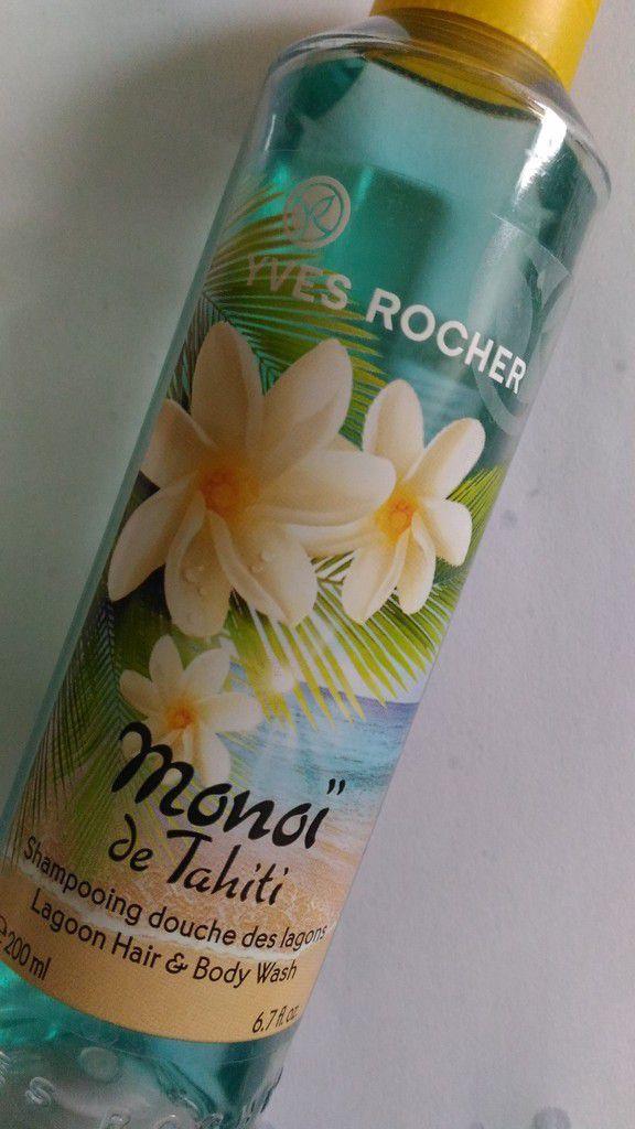 Shampoing-douche Monoï de Tahiti - Yves Rocher - 3.90€