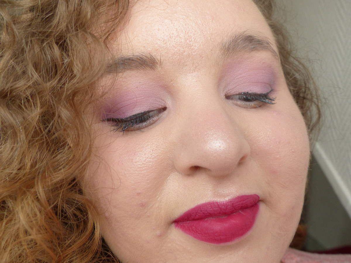 Mon Makeup du moment ! - Le violet est à l'honneur !