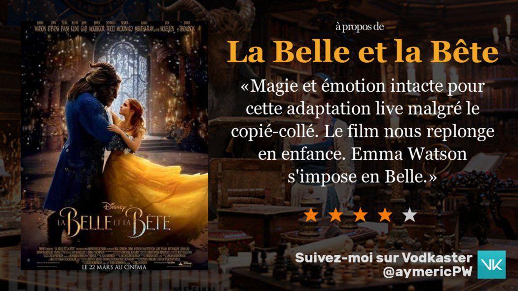 La Belle et la Bête, adaptation live action réussie ou ratée ? [discussion]