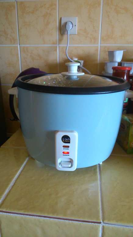 Le Rice cooker...