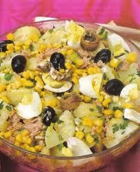 Une salade tunisienne -A Tunisian salad