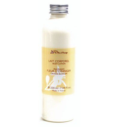Le lait corporel à la fleur d oranger-The body milk with  orange blossom