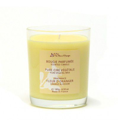 La bougie parfumée à la fleur d oranger -The scented candle with orange blossom