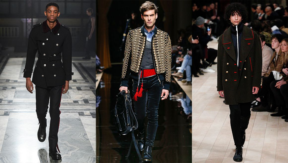 Alexander Mc Queen,Balmain,Burberry