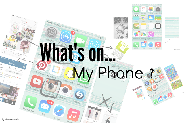 Tag n°4] - What's on my phone - SarahToutSimplement