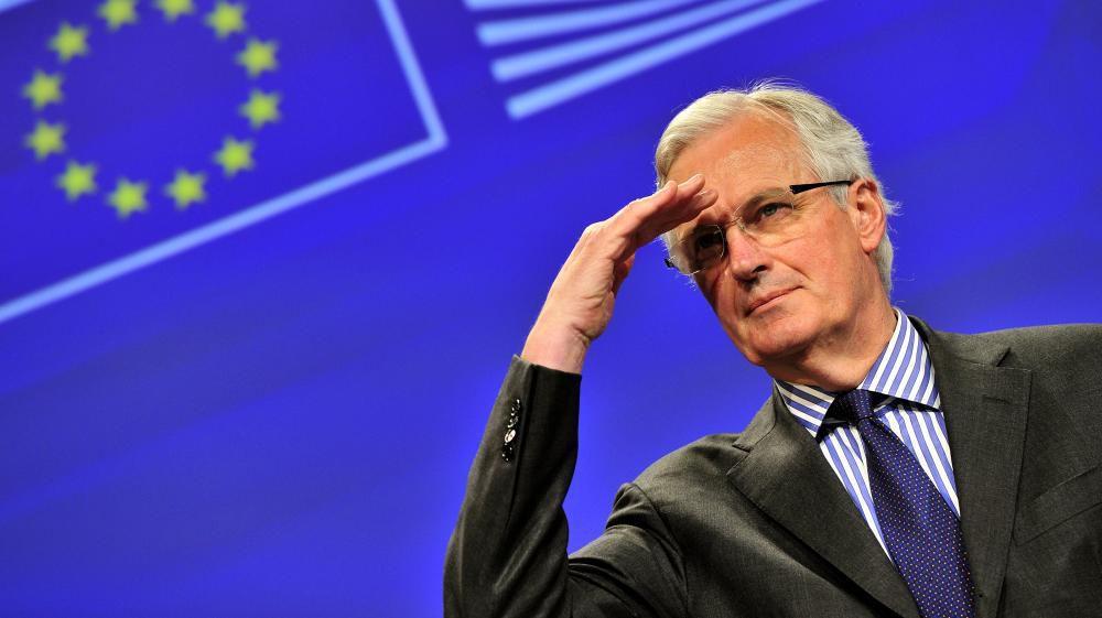 Michel BARNIER, l'ancien commissaire européen à l'origine de l'Union bancaire.