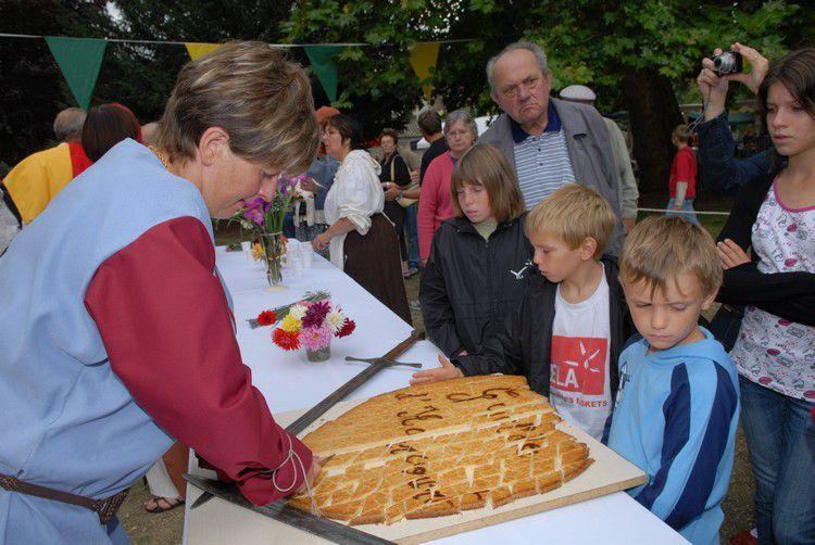 Fête de la Guilde d'Harcourt à Chauvigny : édition 2008