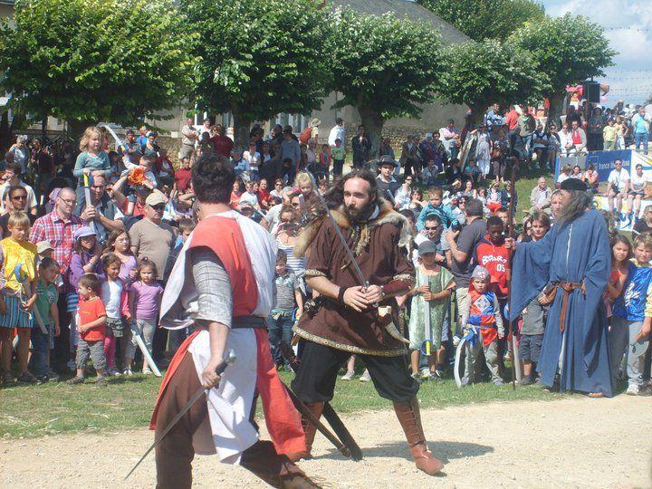 Fête médiévale de Lusignan : édition 2011