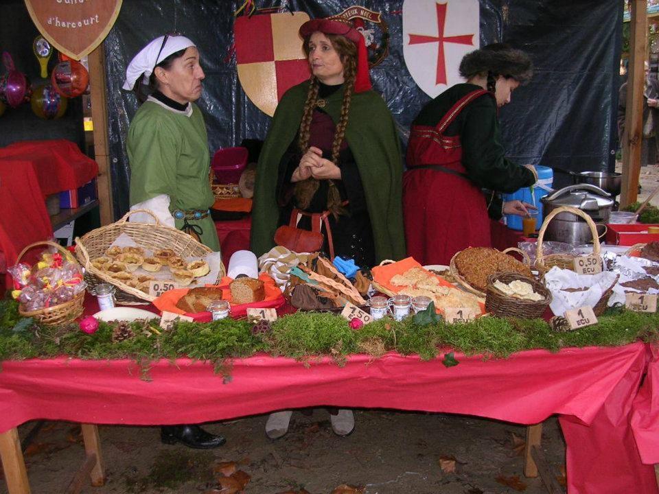 Marché de Noël de Chauvigny - Décembre 2011