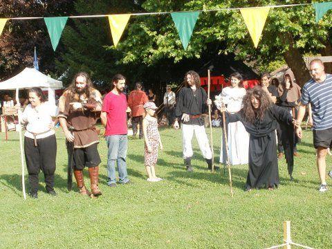 Fête de la Guilde d'Harcourt à Chauvigny : édition 2011