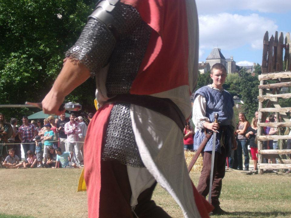 Fête médiévale de la Guilde d'Harcourt à Chauvigny : édition 2012