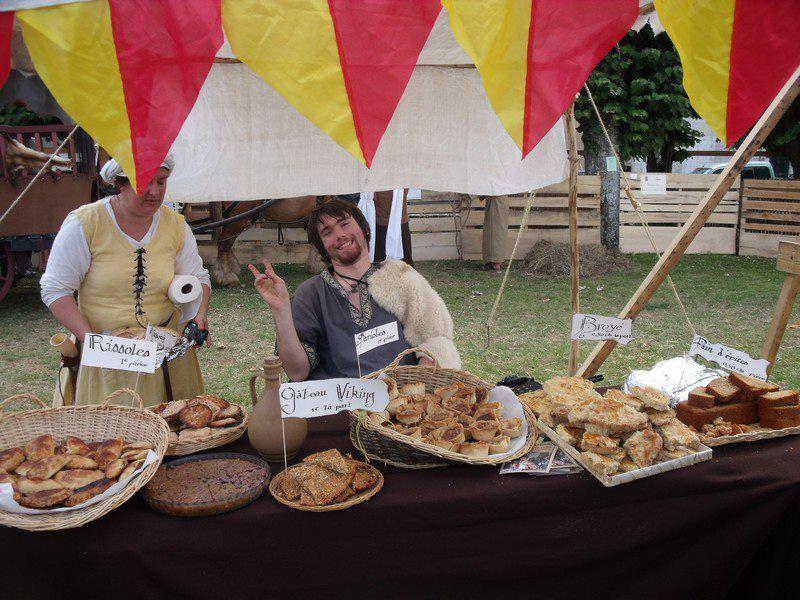 Fête médiévale de Lusignan : édition 2012