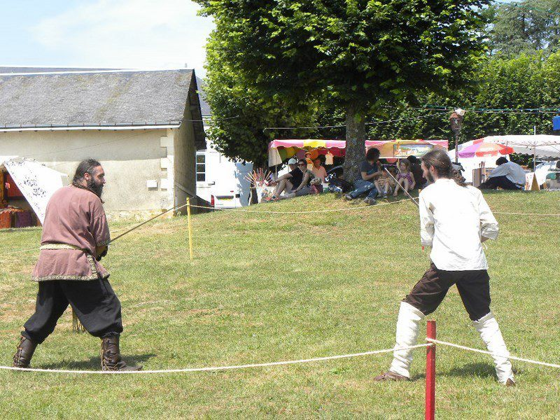 Fête médiévale de Lusignan - 21 Juillet 2013