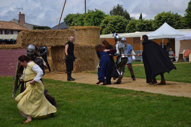 Fête médiévale de Lusignan - 24 Juillet 2014