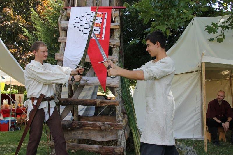 Notre fête médiévale à Chauvigny - 17 et 18 Août 2013