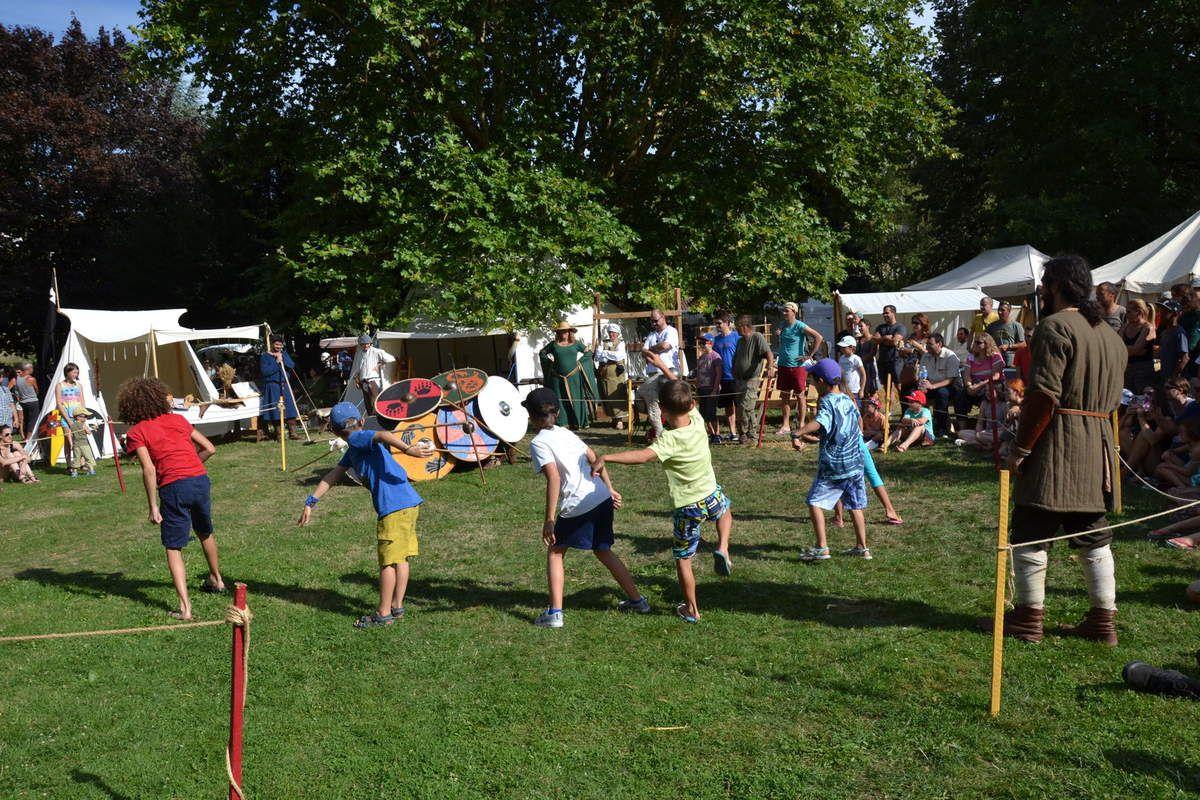 Notre fête médiévale à Chauvigny - Nos 10 ans - 22 et 23 Août 2015