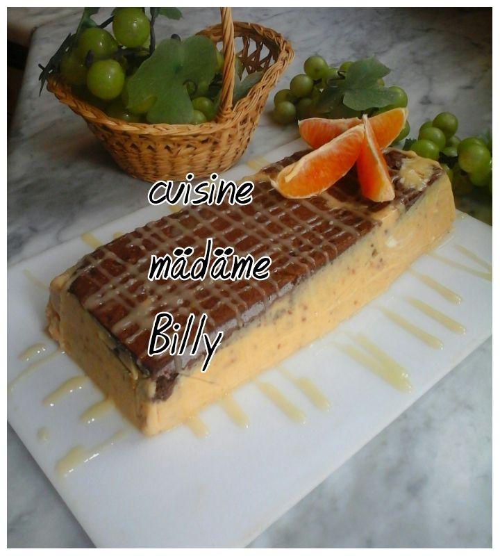 Bavarois à l'orange حلو بالبرتقال