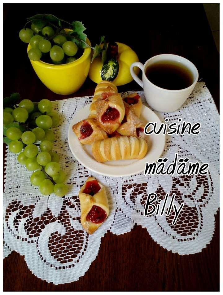Recette Feuilleté aux fraises فايتي بالفراولة