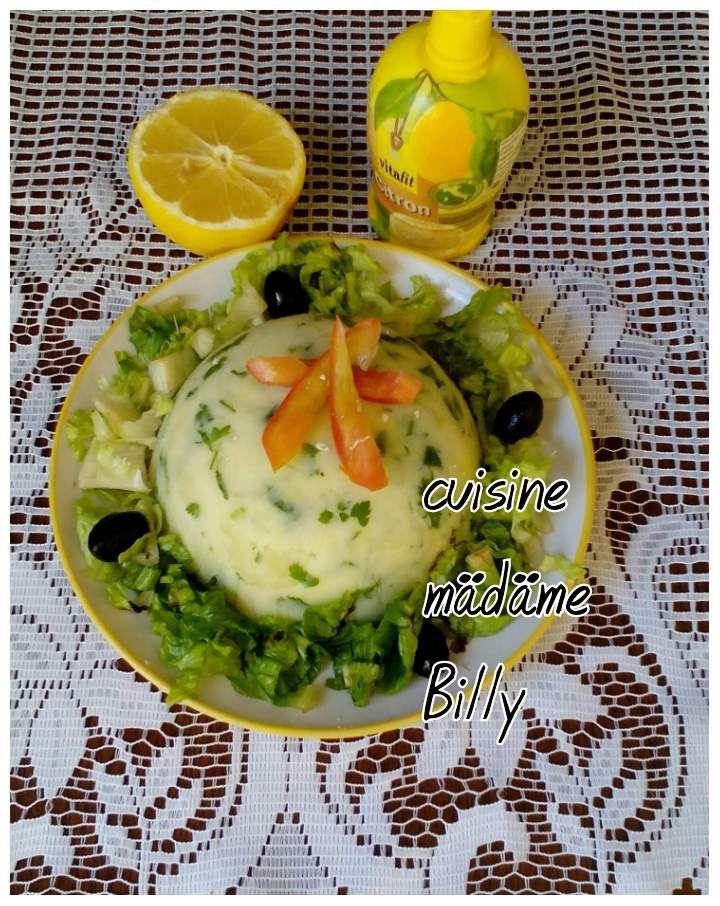 Salade de pomme de terre سلطة البطاطا