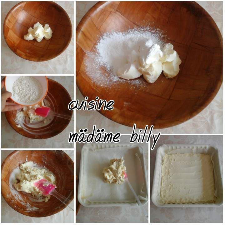 Gâteau à la confiture et amende effiléeقاطو المربي