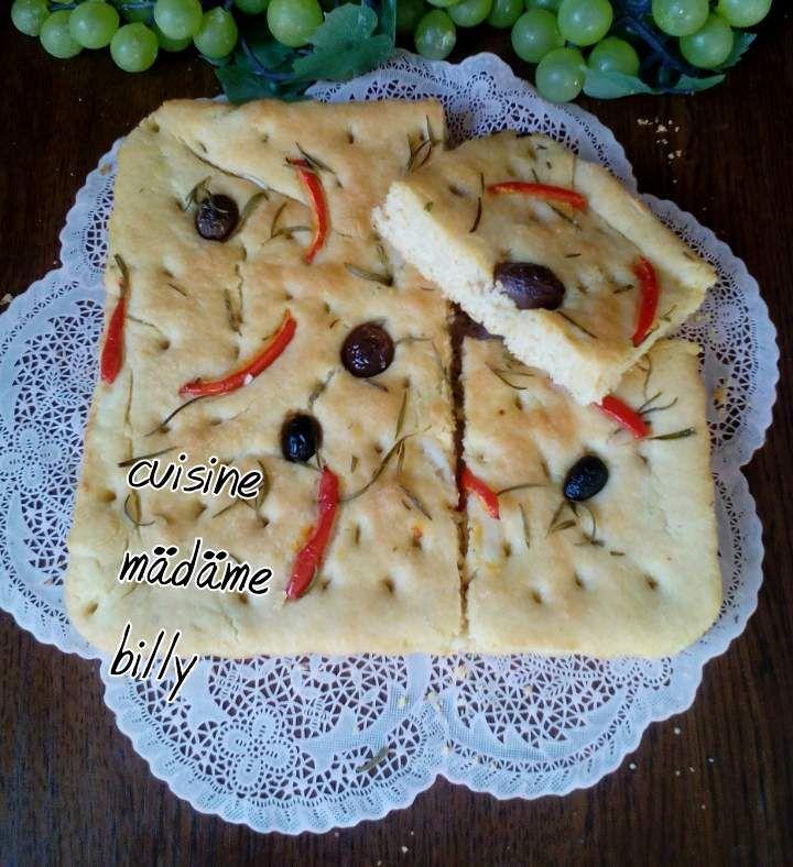 Pain Focaccia خبز