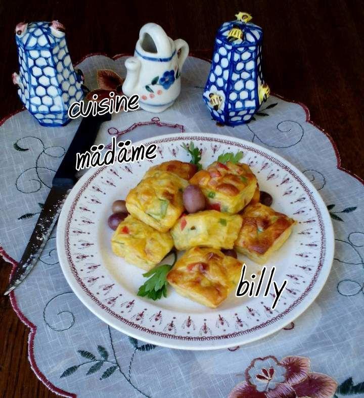 Minis muffins salée مافين مالح