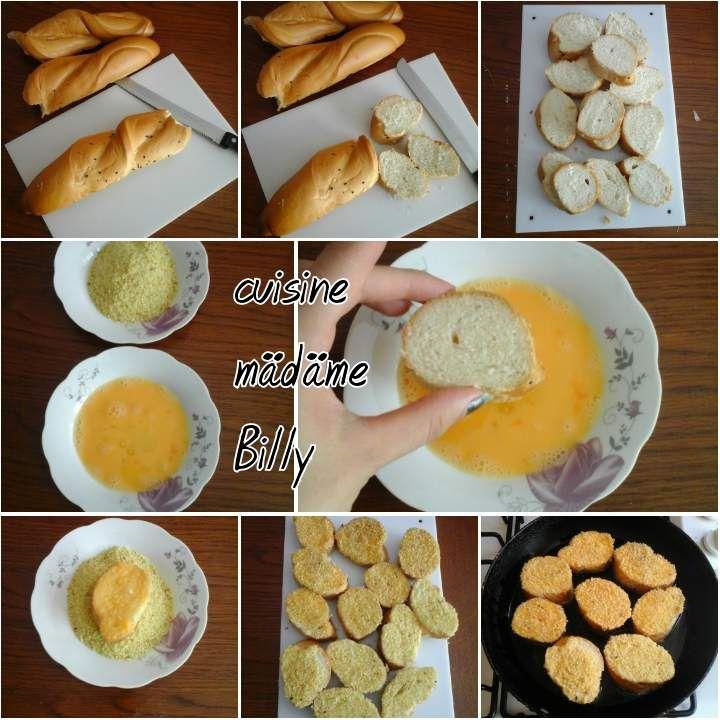 Tranche de pain grillé خبز باني