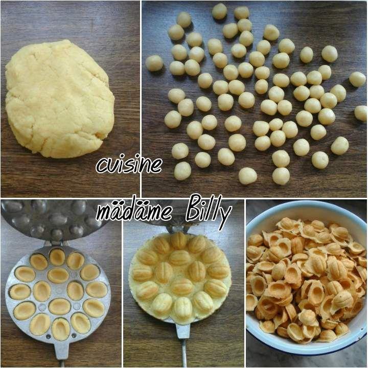 Zouza Tunisien Gateau Noix Tunisien زوز التونسية Cuisine Madame