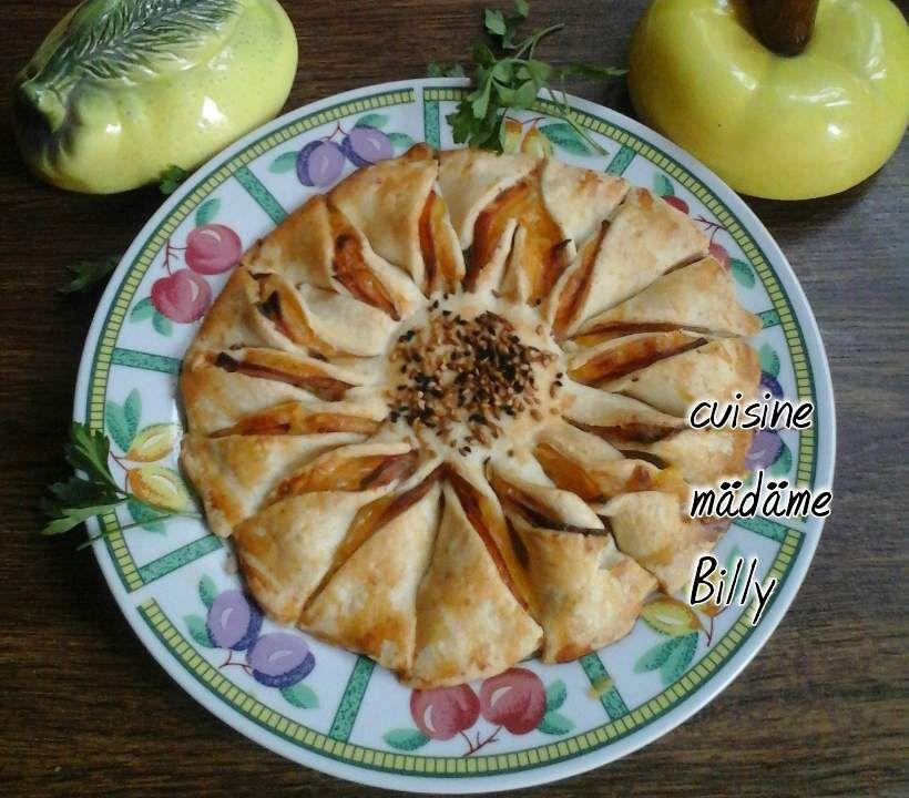 Feuilleté soleil jambon/fromage فايتي الجبن الجومبو الدجاج
