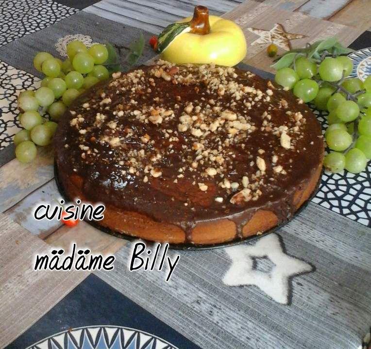 Gâteau au chocolat et amandes sans farine قاطو الشكولا بدون طحين