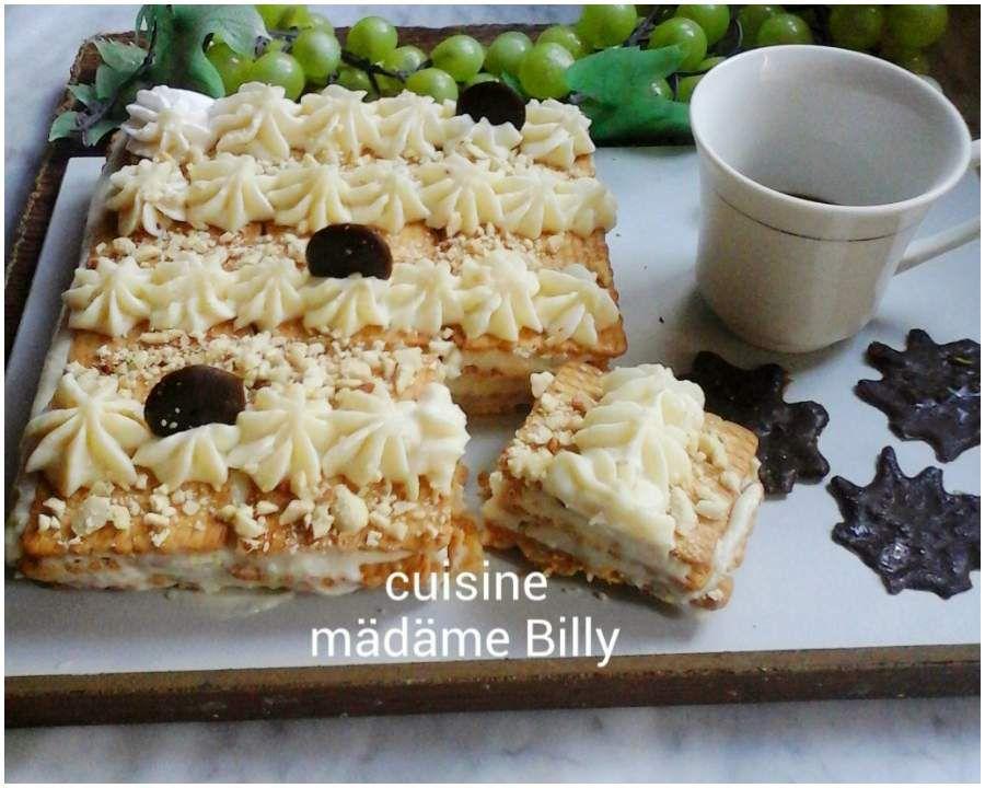 Gâteau courant d'air au lait خبزة الهواء التونسية