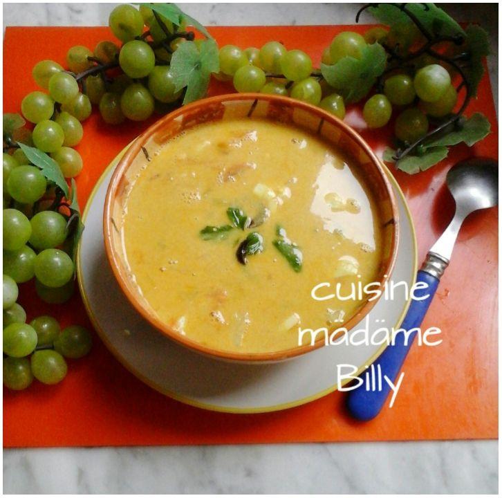 Soupe d'œufs durs حساء بالبيض المسلوق