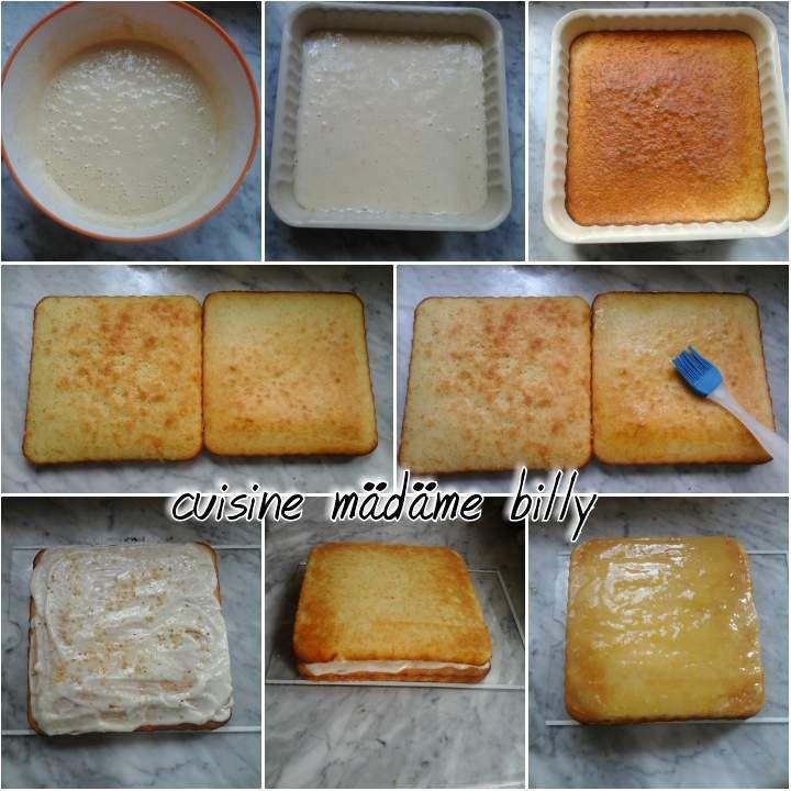 Gâteau au citron قاطو بالليمون