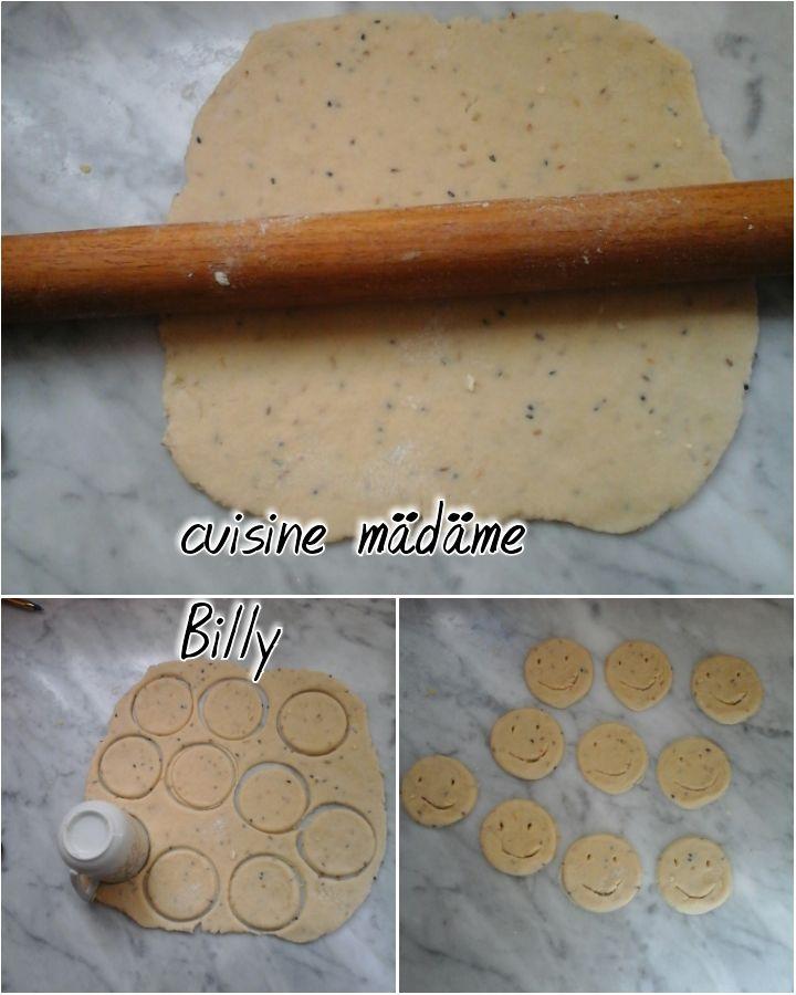 Biscuits salé smile بسكويت لمالح