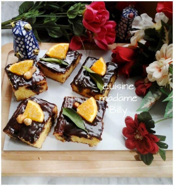 Gâteau au chocolat قاطو الشوكولاته