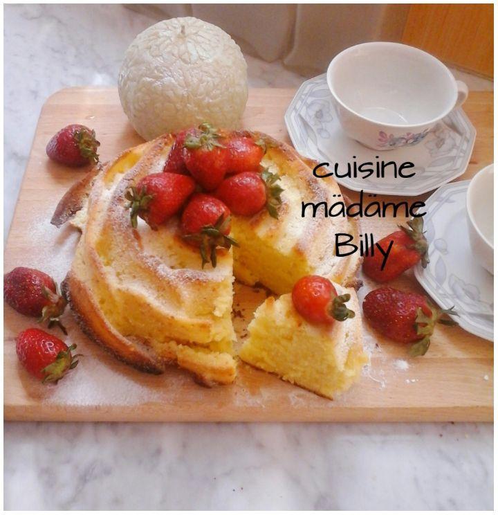 Mouskoutch aux fraises موسكوتشو بالفراولة