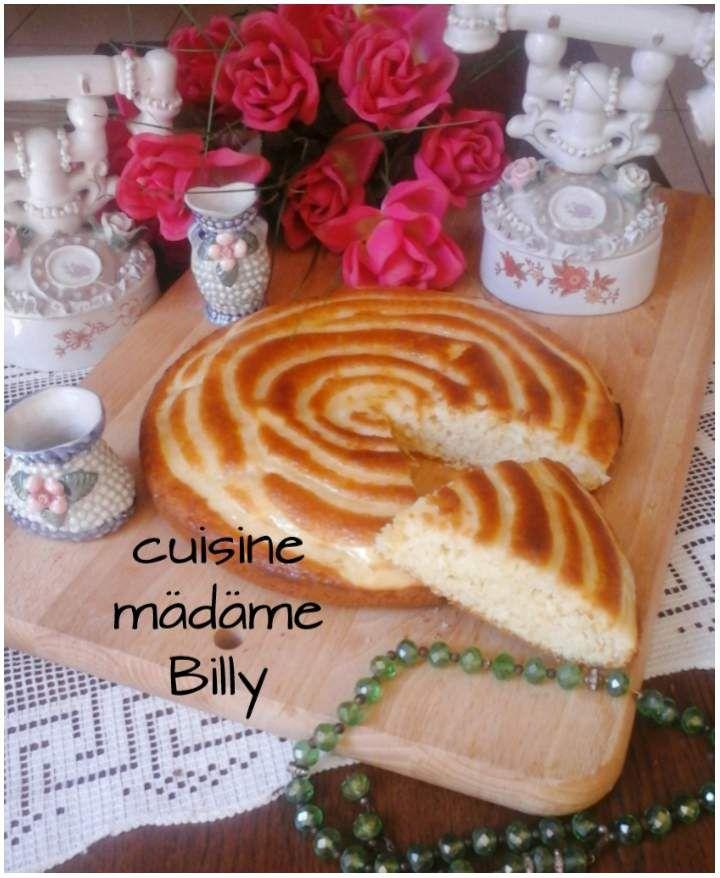 Gâteau escargot. قاطو حلزوني
